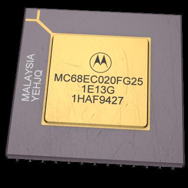 MC68020 - Motorola 68020 - Jap...